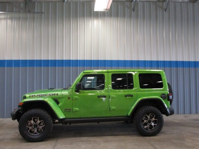 New 2019 Jeep Wrangler UNLIMITED RUBICON 4X4 Sport Utility in Rochelle, IL