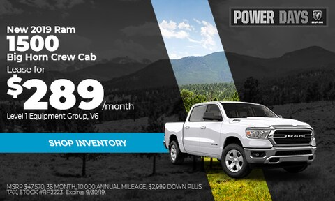 September Ram 1500 Lease Offer
