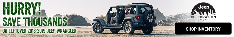 Save Thousands on Leftover Jeep Wrangler