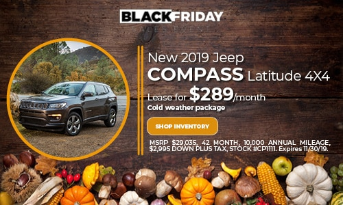 November Jeep Compass Lease Offer