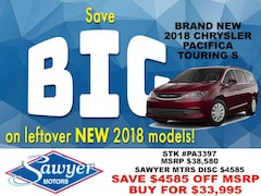 new 2018 Chrysler Pacifica TOURING L Passenger Van Albany