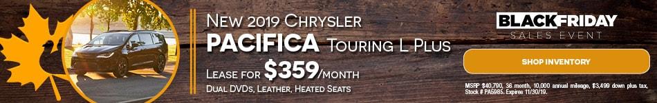 November Chrysler Pacifica Lease Offer