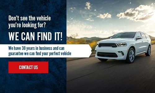 Sawyer Motors New Vehicle Carfinder Service
