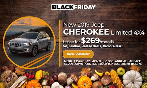 November Jeep Cherokee Lease Offer