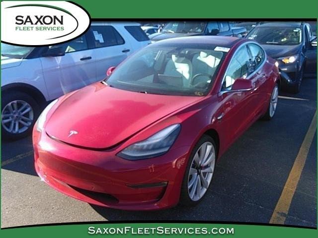 Used 2018 Tesla Model 3 For Sale at Saxon Fleet Services   VIN