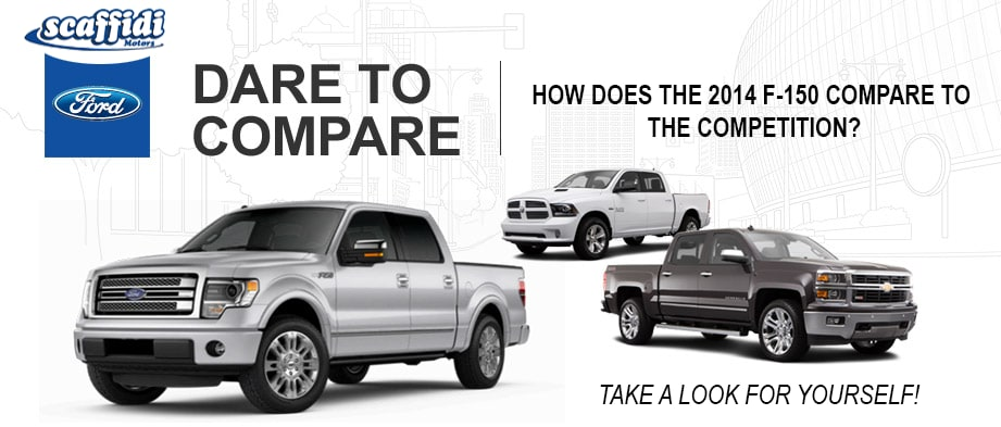 Compare ford f 150 to chevy silverado to ram 1500 at for Scaffidi motors stevens point wi