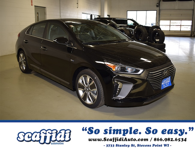 New 2019 Hyundai Ioniq Hybrid Limited Hatchback for sale in Stevens Point