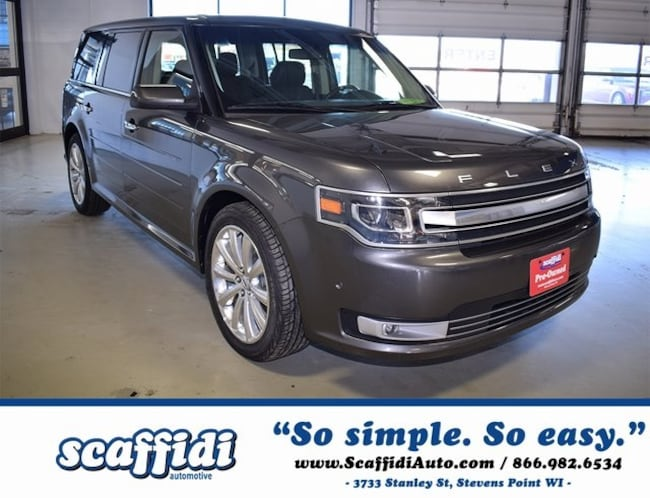 Certified Pre-Owned 2017 Ford Flex Limited SUV Stevens Point WI