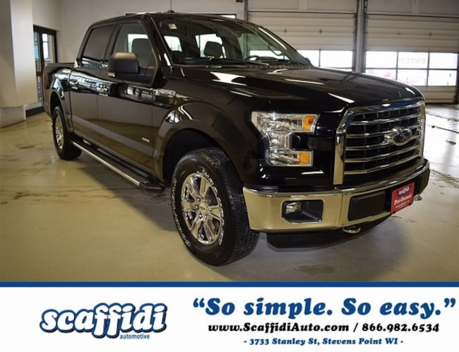 Certified Pre-Owned 2016 Ford F-150 XLT Truck Stevens Point WI