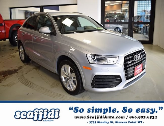 Used 2018 Audi Q3 2.0T Premium SUV for sale in Stevens Point