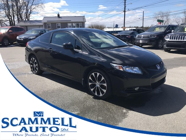 2013 Honda Civic Si Coupe 6-Speed MT Coupe