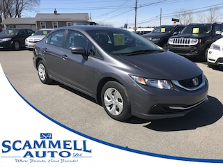 2014 Honda Civic LX Sedan 5-Speed MT Sedan