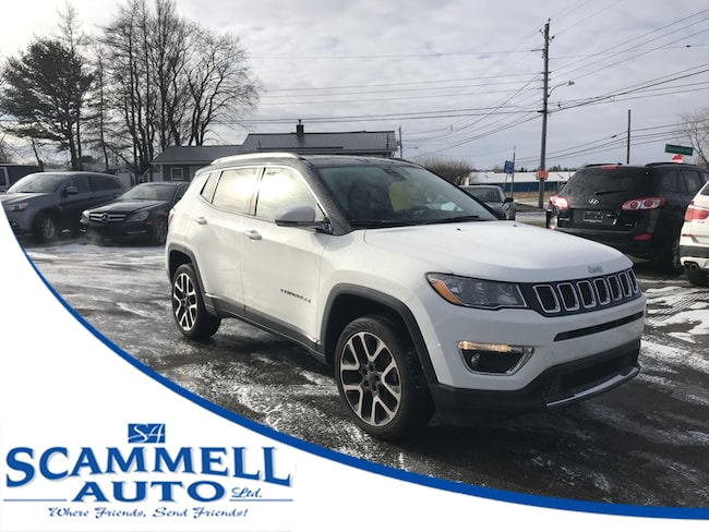 2017 Jeep Compass Limited 4WD SUV