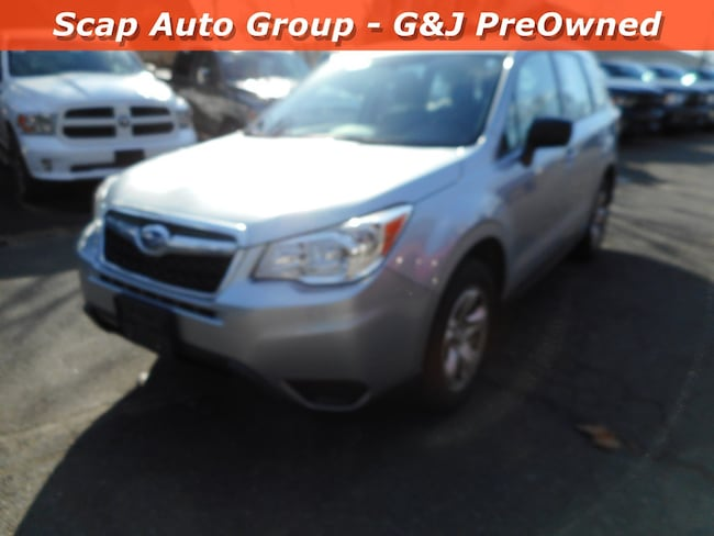 2016 Subaru Forester 2.5i Man 2.5i PZEV in Fairfield, CT