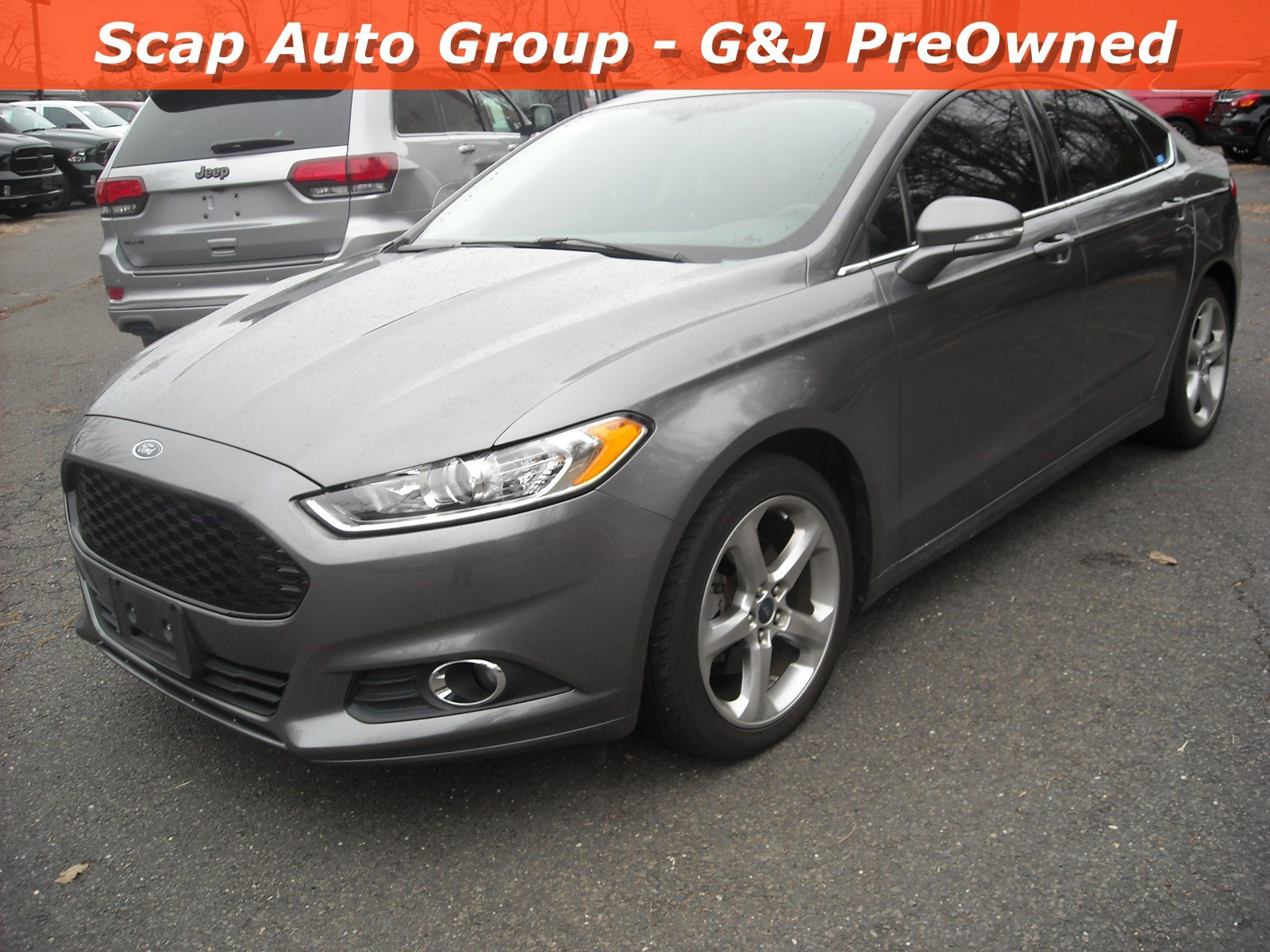 Used 2014 Ford Fusion SE Sedan for sale in Fairfield CT
