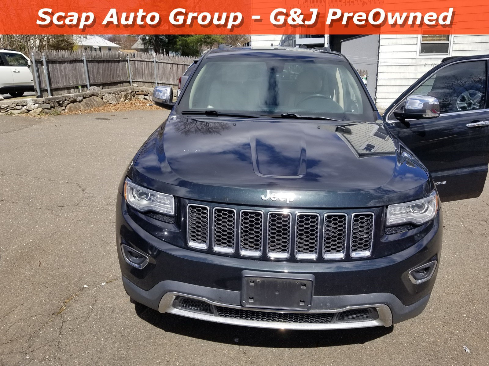 Used 2014 Jeep Grand Cherokee Limited 4WD  Limited for sale in Fairfield CT