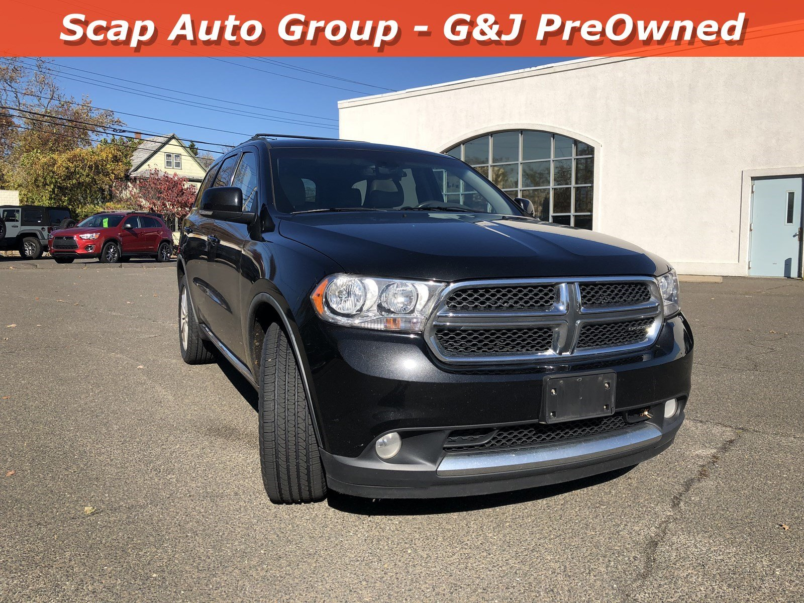 Used 2012 Dodge Durango Crew AWD  Crew for sale in Fairfield CT