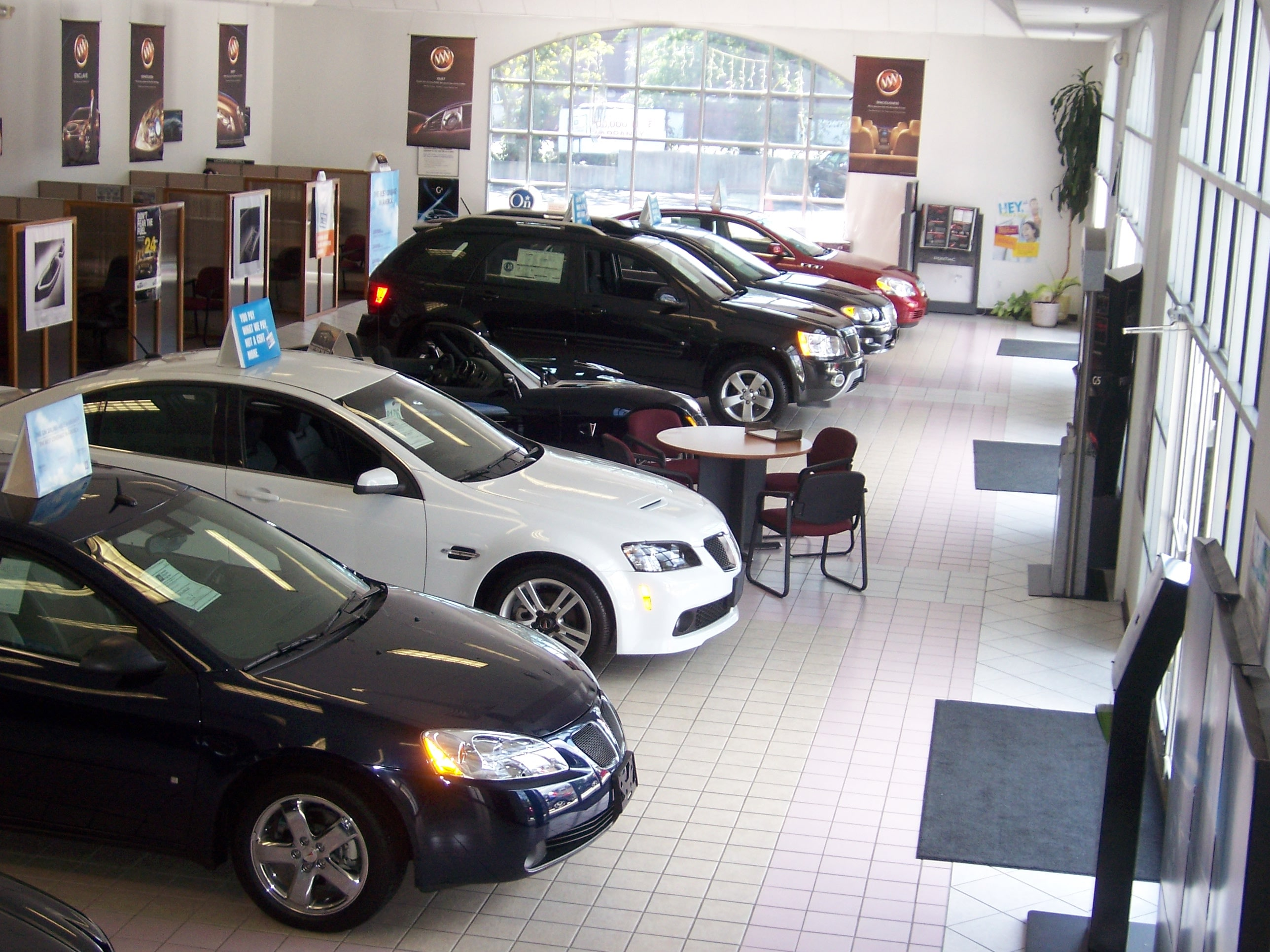 Inside Our Showroom at G&J Used Car Dealership in Fairfield CT