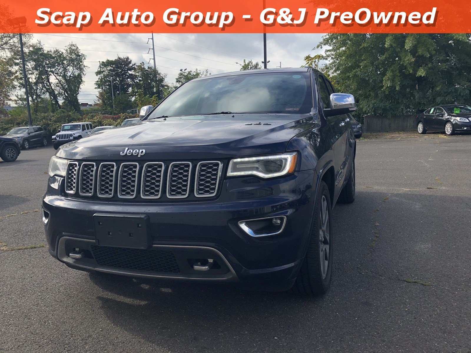 Used 2017 Jeep Grand Cherokee Overland Overland 4x4 for sale in Fairfield CT