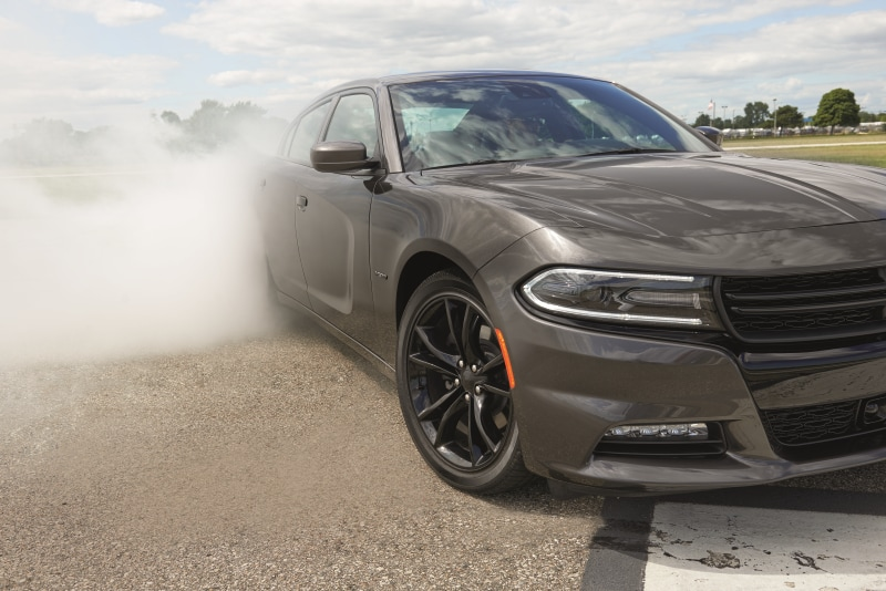 2016 Charger spinning tires
