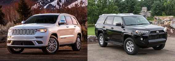 Jeep Grand Cherokee Vs Toyota 4runner >> Jeep Grand Cherokee Vs Toyota 4runner