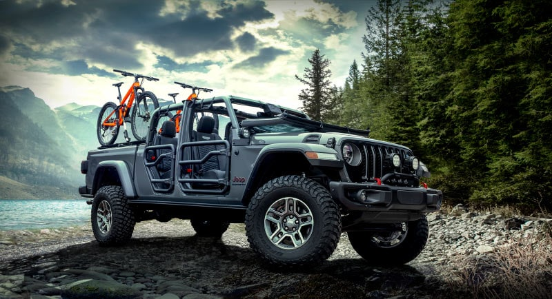 Jeep Gladiator Equipped With MOPAR Offroad Parts