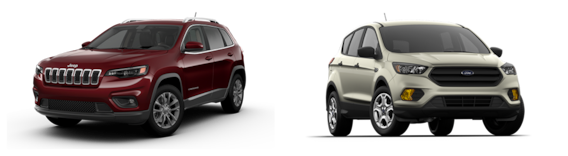 Jeep Cherokee Vs Ford Escape Suv Comparison