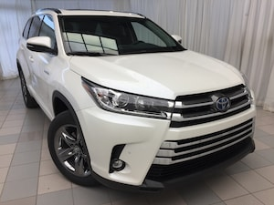 2019 Toyota Highlander Hybrid Hybrid Limited Standard Package +Pearl