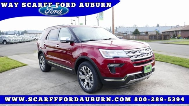 New 2019 Ford Explorer Limited SUV for Sale in Auburn WA