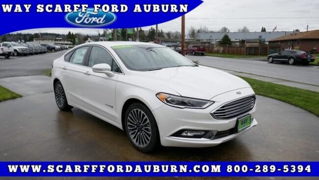 New 2018 Ford Fusion Hybrid Titanium Sedan for Sale in Auburn WA