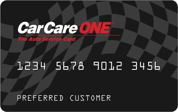 Care One Credit Card >> Car Care One Auto Service Card At Suburban Toyota Of Troy New