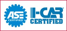 I-CAR and ASE Certified