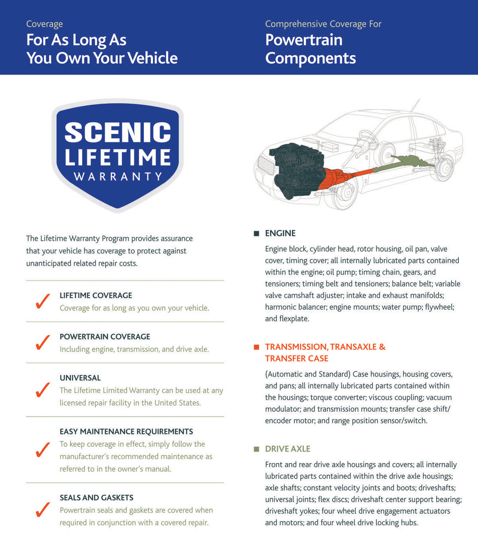 Lifetime Warranty Scenic Subaru Rear Axle Diagram