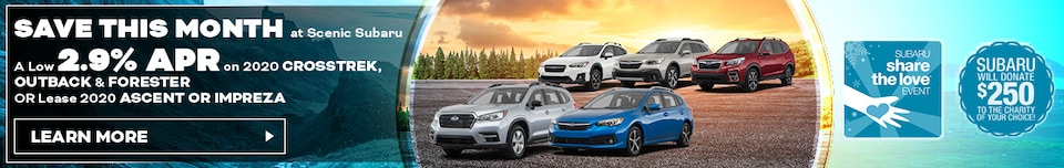 Save This Month at Scenic Subaru