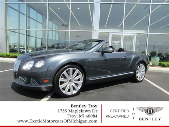 2013 Bentley Continental GT AWD GT  Convertible