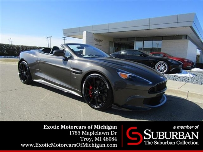 New Aston Martin Vanquish For Sale Troy MI - Aston martin troy