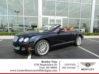 2010 Bentley Continental GT Speed AWD GT Speed  Convertible