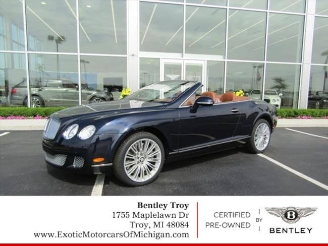 2010 Bentley Continental GT Speed AWD GT Speed  Convertible