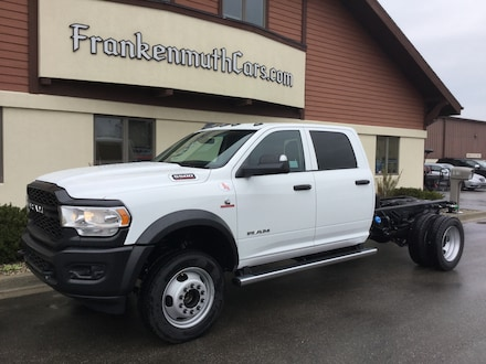 2019 Ram 5500 Chassis Cab 5500 TRADESMAN CHASSIS CREW CAB 4X2 173.4 WB Crew Cab