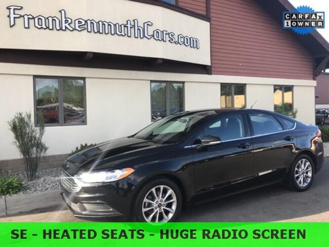 Used 2017 Ford Fusion SE Sedan 3FA6P0HD0HR310633 Frankenmuth