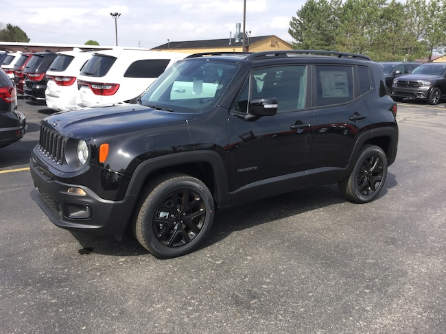 New 2018 Jeep Renegade ALTITUDE 4X4 Sport Utility Frankenmuth