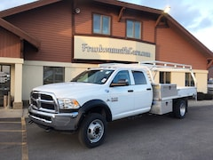 2018 Ram 5500 Chassis Cab 5500 TRADESMAN CHASSIS CREW CAB 4X4 197.4 WB Crew Cab