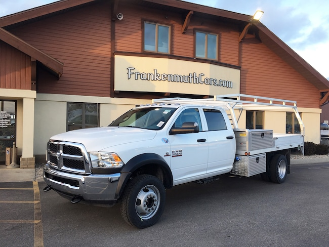 New 2018 Ram 5500 TRADESMAN CHASSIS CREW CAB 4X4 197.4 WB Crew Cab Frankenmuth
