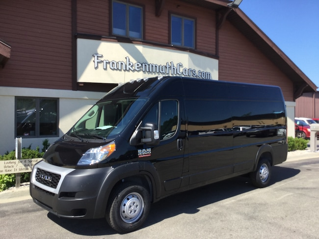 New 2019 Ram ProMaster 3500 CARGO VAN HIGH ROOF 159 WB EXT Extended Cargo Van Frankenmuth