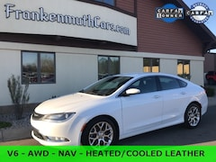 used 2015 Chrysler 200 C Sedan 1C3CCCEG6FN560519 for sale in Frankenmuth