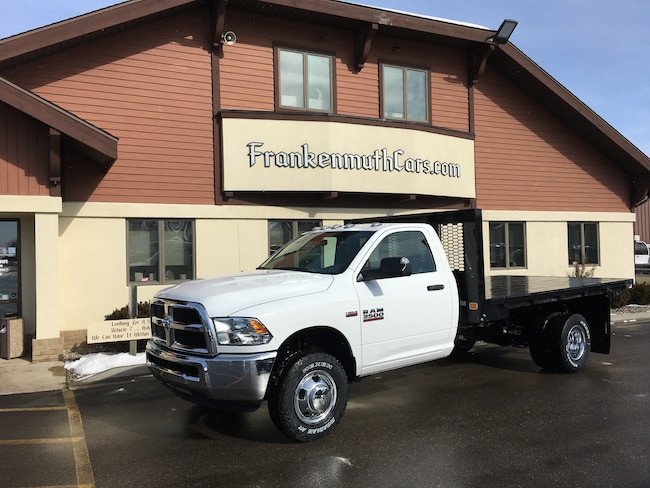 New 2018 Ram 3500 Chassis Cab 3500 TRADESMAN CHASSIS REGULAR CAB 4X4 167.5 WB Regular Cab Frankenmuth