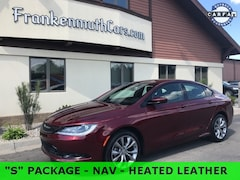 used 2015 Chrysler 200 S Sedan 1C3CCCBB6FN566037 for sale in Frankenmuth