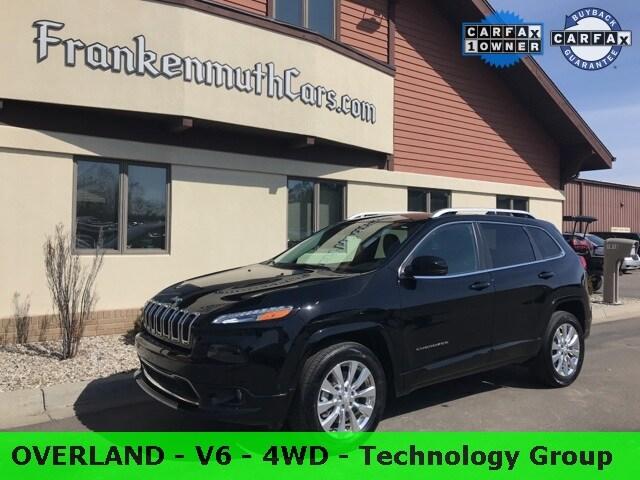 2018 Jeep Cherokee Overland SUV 1C4PJMJXXJD614630