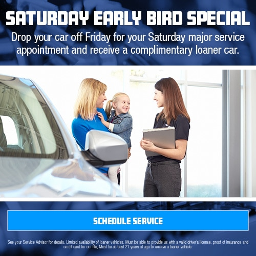 Saturday Early Bird Special