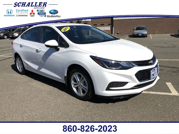 Used 2017 Chevrolet Cruze LT Auto Sedan in Berlin CT